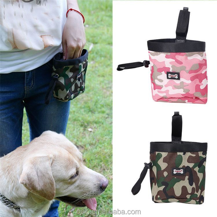 Pet Treat Tote Outdoor Dog Treat Bag Dog Treat Pouch for Training