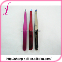 Professional manufacturer pattern eyebrow tweezer with comb