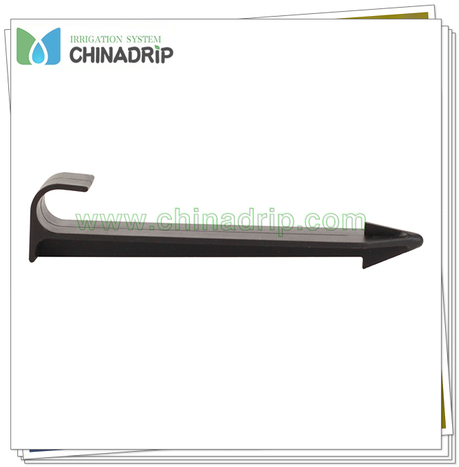 Drip Tubing Hold Down Plastic Garden Stake