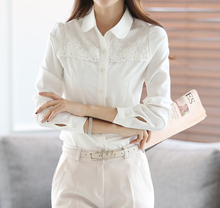 W30701H wholesale ladies blouses and tops long sleeve women blouses 2015