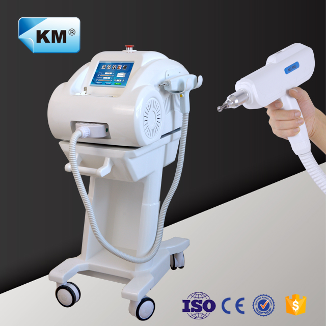 High quality laser tattoo/age pigment removal nd yag <strong>q</strong> switch blood vessel beauty machine