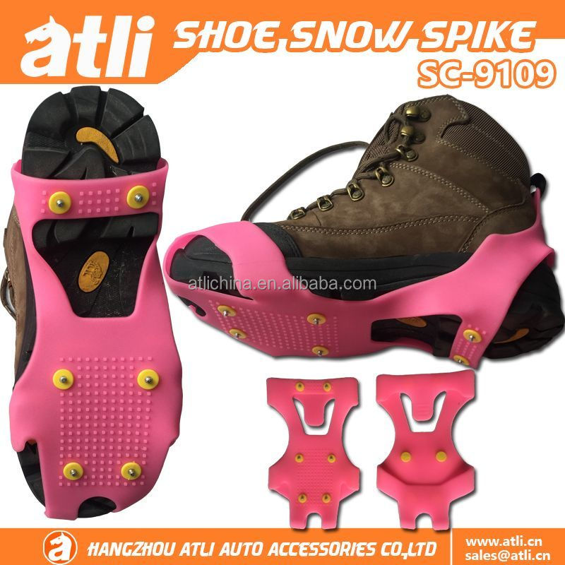 ATLI ice snow shoes cover non-slip safety grabbers