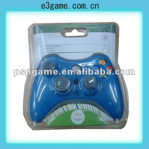 Wireless modded Controller with rapid fire for xbox-360 video game console