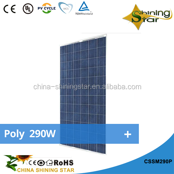 Good quality polycrystalline best solar panels 270W price for sale 2017 best pv supplier cheapest