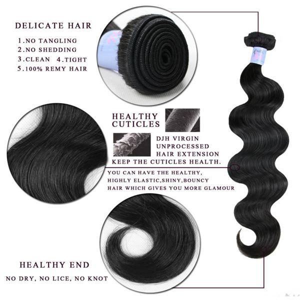 Good Quality Good Price Unprocessed Remy 7A peruvian 100% human hair