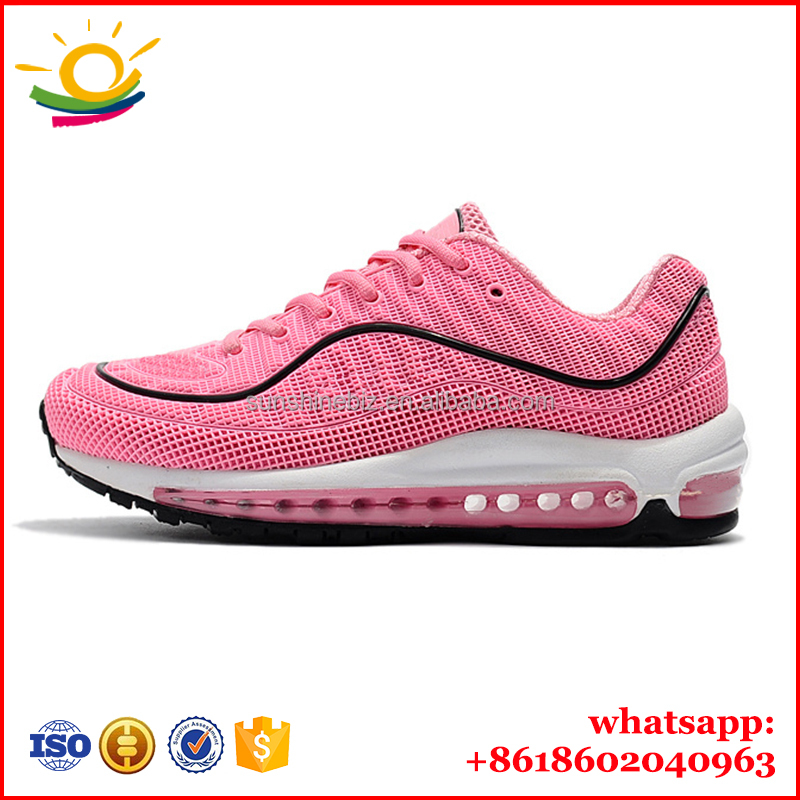 Max Color Available and new model for air cushion shoes 98 running shoes Name brand sports shoes