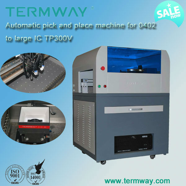 SMT Desktop automatic high precision pick and place machine TP300V for PCB assembly