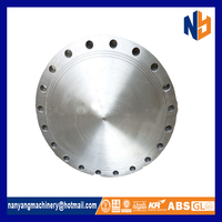 Stainless steel blind ansi b16.5 flange