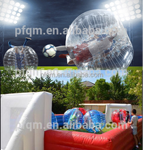 Fashionable sports entertainment football inflatable body zorb ball