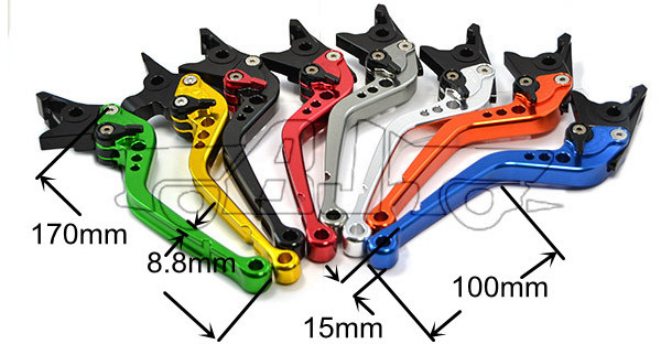BJ-LS-003-R19/Y688 For Yamaha YZF R1 Body Kit CNC Motorcycle Brake Clutch Lever