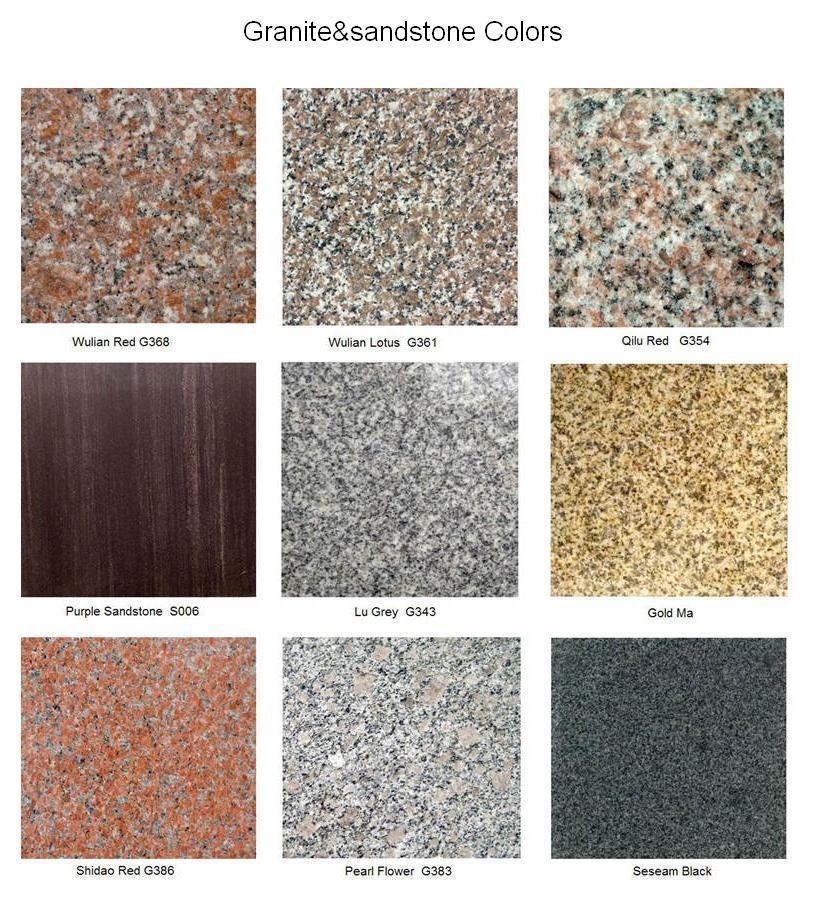 Granite Curb Pricing : China low price cheap natural garden granite parking