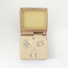 Replacement Housing Shell Gold for Game Boy Advance SP