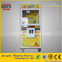 Single toy claw machine/MINI BABY crean claw machine /claw machine game