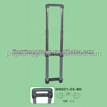 telescopic handle luggage trolley spinner wheels detachable wheels aluminum alloy handle