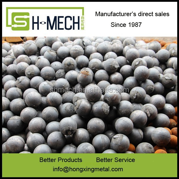 cast grinding steel ball for Wet / Dry mill.