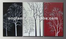 Free abstract tree fabric painting designs