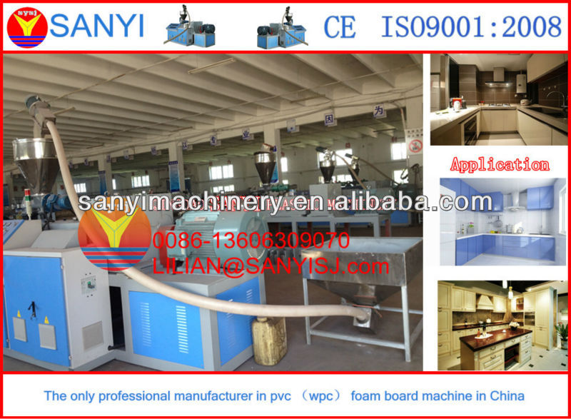 PVC foaming sheet Extrusion Machine-Three Roller Calendering Machine