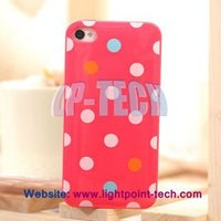 New design case for Iphone 4 4S 4GS Big wave point