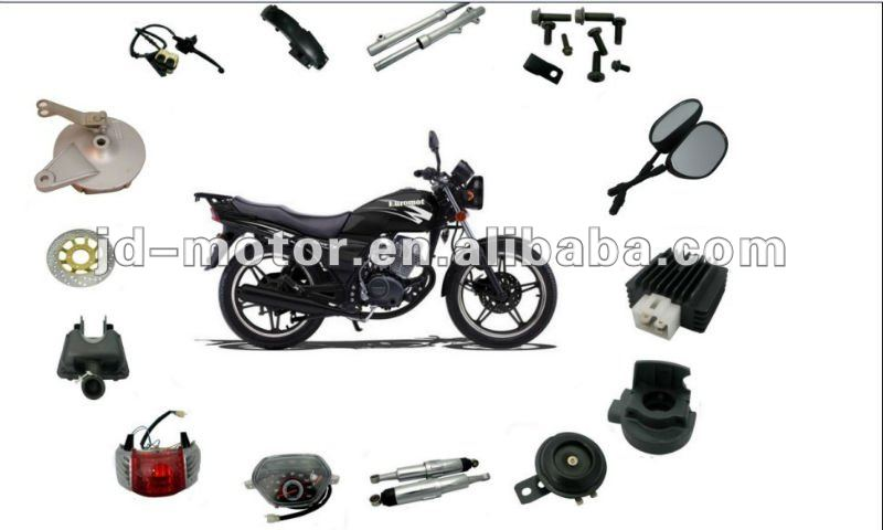 Chinese Motorcycle HaoJue HJ125-7 Parts and Accessories