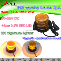 New Arrival!5 flashing function beacon light , police and ambulance used warning beacon light with strong magnetic