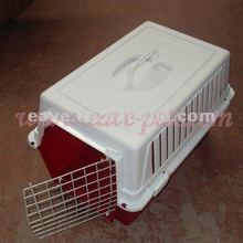 CA007 Pet Dog Cat Rabbit Airline Travel Portable Plastic Cage Carrier