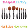 10pcs High Quality Synthetic Hair Oval