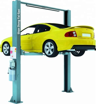 Hot selling 3.5T Tons Electric Gantry Car Lift 2 Post Clear Floor Car Lift Auto Lift
