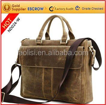 2016 HOT genuine leather men bag shoulder bags