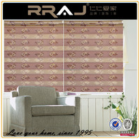 vertical fabric roller rolls blind