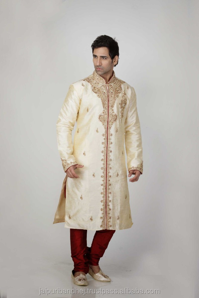 Party Wear Men's Long Kurtas Designer Kurta From India