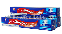 household used aluminium foil paper roll manufacturer for food packaging