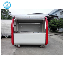 order and go new design street food cars/ hot dog cars for sale/ concession street food trailer