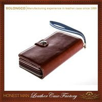 High-End Handmade New Coming Best Design Detachable Wallet Case For Samsung Galaxy Note3