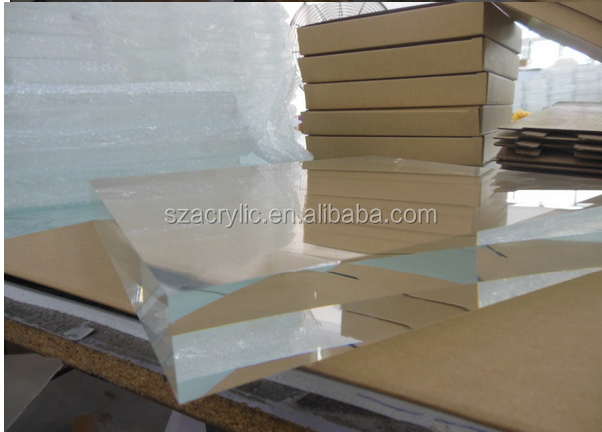 factory supply wholesale clear acrylic solid block