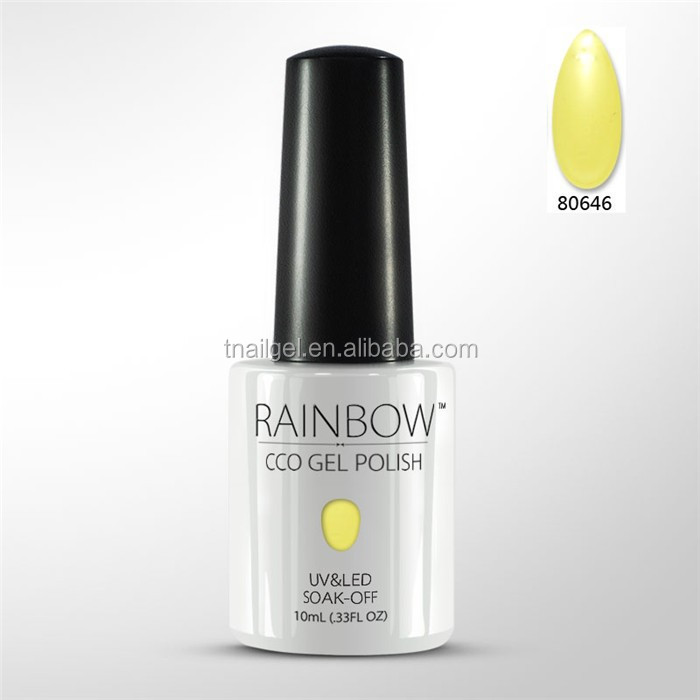2015 new product CCO rainbow 150 colors gel nail polish soak off nail color gel polish