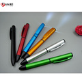 Matt Finish Twist LED light pointer pen 0.7 mm soft touch