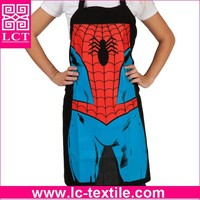 wholesale 100% Shrink-proof lastest design funny apron with custom printing(LCTA0042)