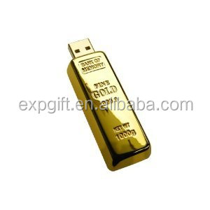 Gold Bar USB flash drive / Gold Ingot USB Flash Drive / Gold Nugget USB Flash Drive