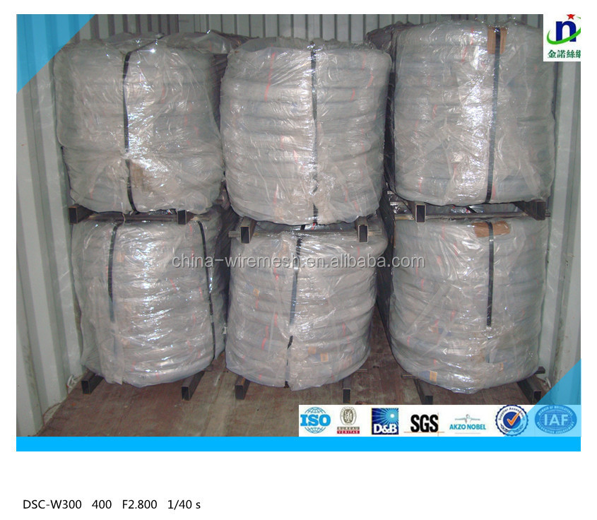High tensile Hot dip Galvanized steel Wire 2.5mm/2.24mm/2.55mm