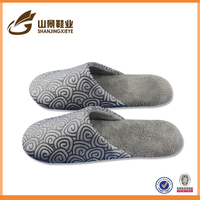 latest design slipper sandal men velvet home floor footwear
