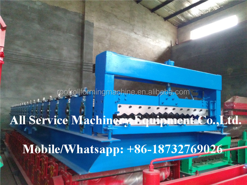 1032 New Type Corrugated Metal Roofing Tile Roll Forming Machine