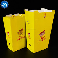 Cheap price fast food packaging boxes fried chicken box for take away