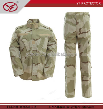 Military exercises uniform/army troop uniform ACU style