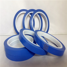 Factory price blue pet automotive masking tape for car painting with high temperature
