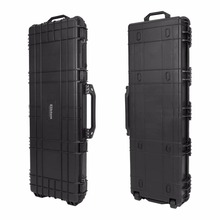 GD6064 Double Scoped Rifile and Shot gun Wheeled Hard Gun Case