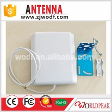 Wall mounted 4G/LTE 800-2500mhz directional indoor panel antenna