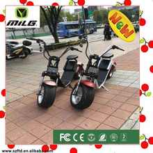 Newest popular Harley style fashion 1200w japan electric motorcycle for adults citycoco electric scooter