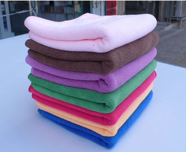 Microfiber Cleaning Cloths - Custom Car Detailing Towels Excellent for Polishing - Waxing - Cleaning - Dusting.