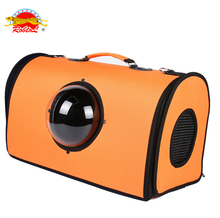 RoblionPet Top quality portable capsule pet carrier dog travel bag backpack pet outdoor