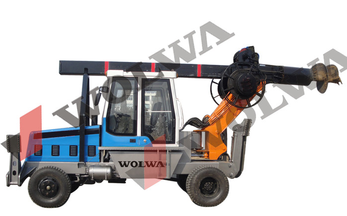 tractor mounted soil drill rig portable machine for sale